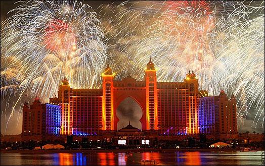 New Year Celebration at Atlantis Hotel