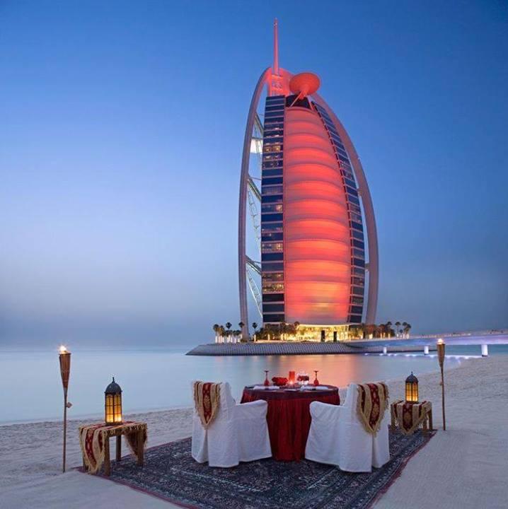 Burj Al Arab Dinner for Romantic People