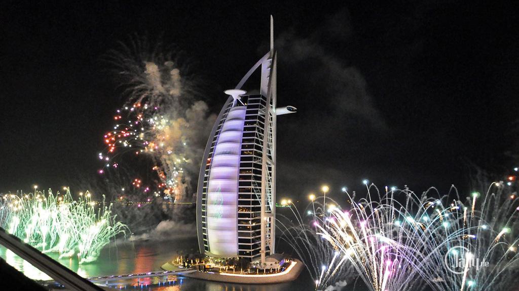 New Year Celebration at Burj Al Arab