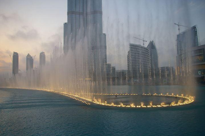 A beautiful View of Burj Khalifa