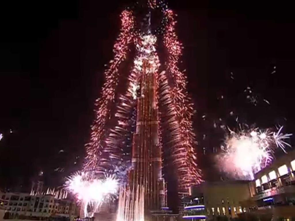 New Year Celebration at Burj Khalifa